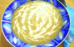 Tejszínes sütőtök leves