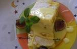 Rizskoch fügével és vanília mártással