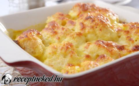 Rakott karfiol recept konyhájából - Receptneked.hu