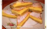 Amerikai citromos szelet