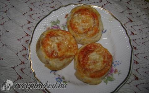 Leveles pizzás csiga