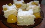 Joghurtos barackos süti kép