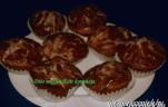 Diós muffin kép