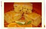 Narancsos tortadarás szelet