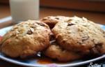 Almás csokis keksz kép