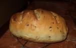Lilahagymás diós kenyér