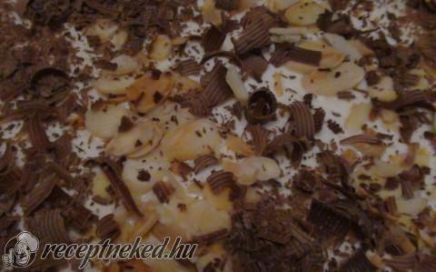 Csokis kávés szelet