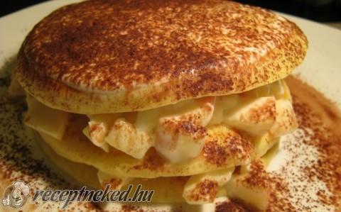 Olasz palacsinta (almás-joghurtos)