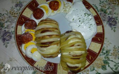 Töltött sült krumpli