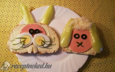 Húsvéti szendvicsek