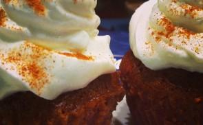 Piros muffin