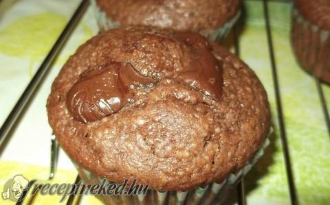 Csupa csokis muffin
