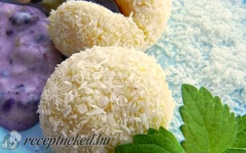 Kókuszos kukorica gombóc