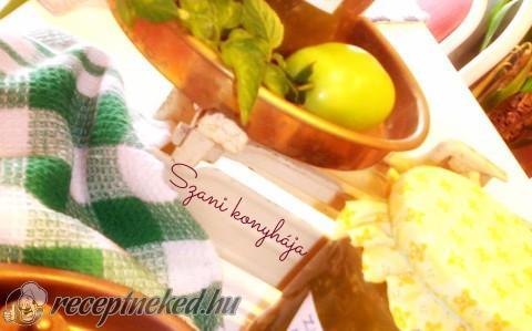 Zöld paradicsom lekvár