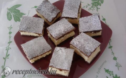 Tejfölös -pudingos sütemény