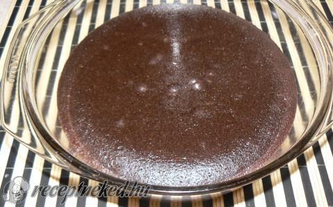 Diós csokis brownie