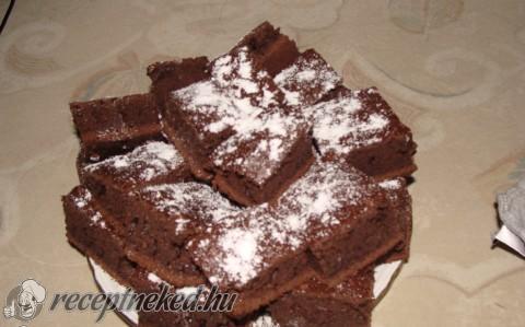10 perces brownie