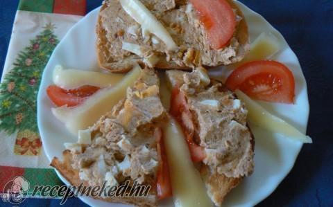 Tepertős szendvics