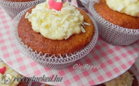 Kókuszos-vaníliás muffin
