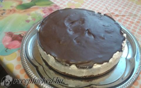 Túró rudi torta extra vastag töltelékkel