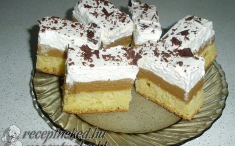 Dupla karamellás sütemény