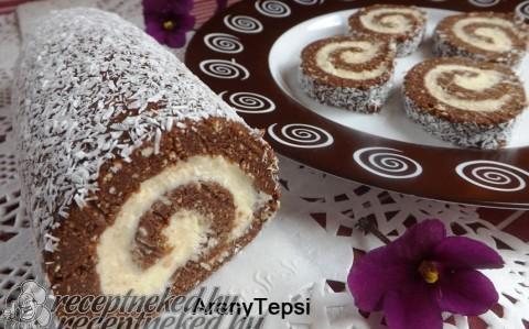 Egyszerű keksztekercs