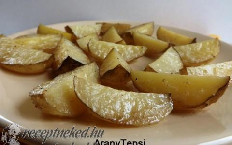 Tepsiben sült újkrumpli