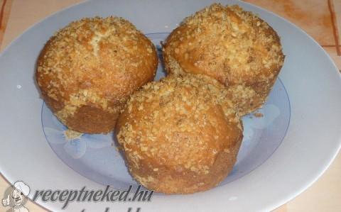Hamis aranygaluska muffin