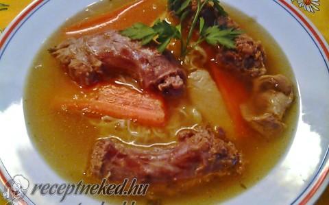 Kacsanyak leves