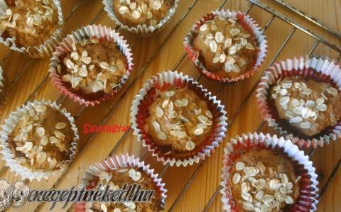 Tripla gyümölcsös zabpelyhes muffin