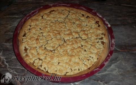 Vaníliakrémes almás pite