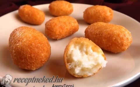 Egyszerű sajtkrokett