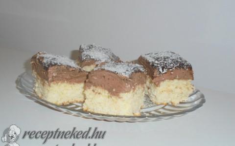 Csokis kókusztalp