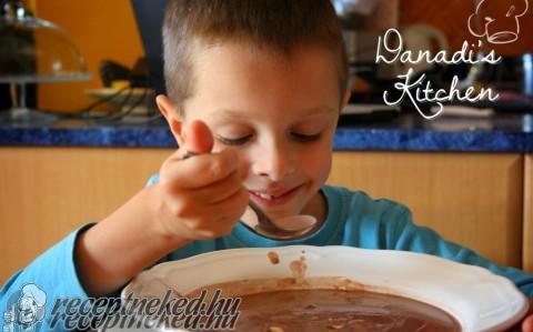 Csokoládé leves