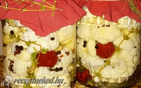 Kakukkfüves savanyított karfiol