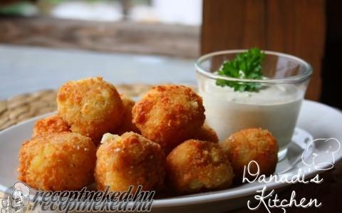 Krumplis-sajtos golyók