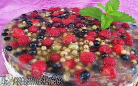 Gyümölcstorta mascarpone krémmel