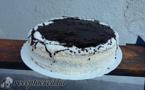 Kozák sapka torta