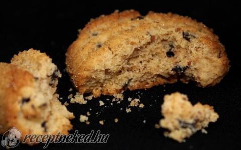 Mogyoróvajas-csokoládés keksz