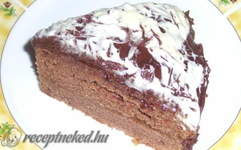 Sacher-torta fehércsokival