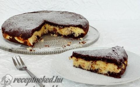 Bounty brownie torta