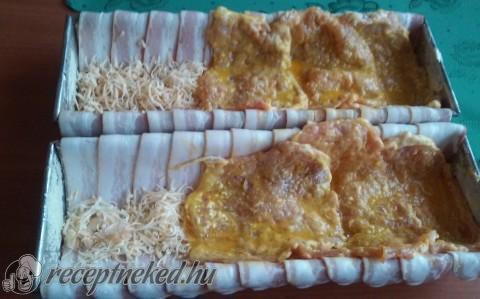 Karajban sült sajtos csülök