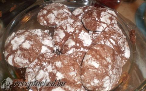 Csokoládés hógolyó