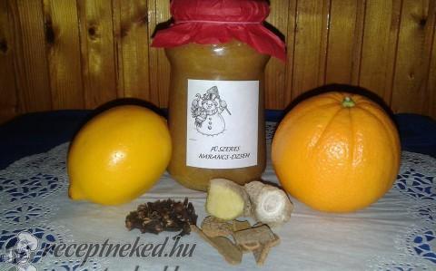 Fűszeres narancs dzsem
