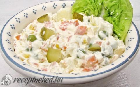 Saláták hamis majonézzel
