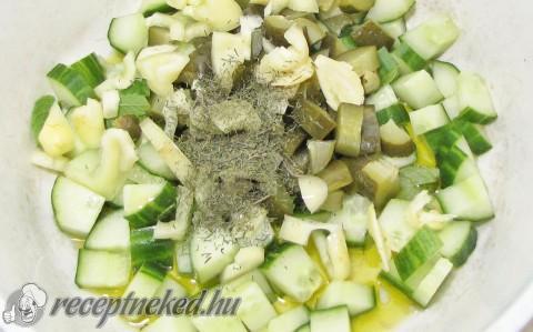 Hideg uborkaleves – uborka gazpacho