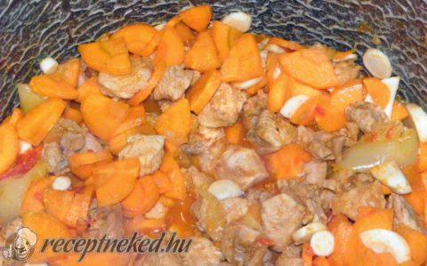 Gulyás leves pulykából