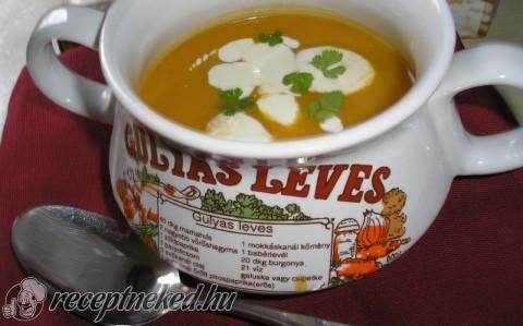Marokkói vörös lencse leves