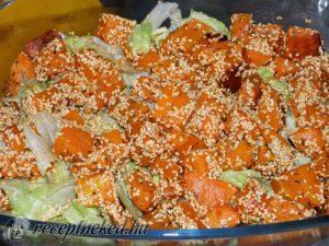 Sütőtök saláta 013