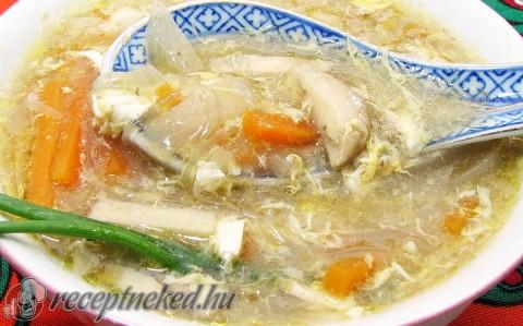 Kínai erős – savanyú leves, kicsit magyarosan